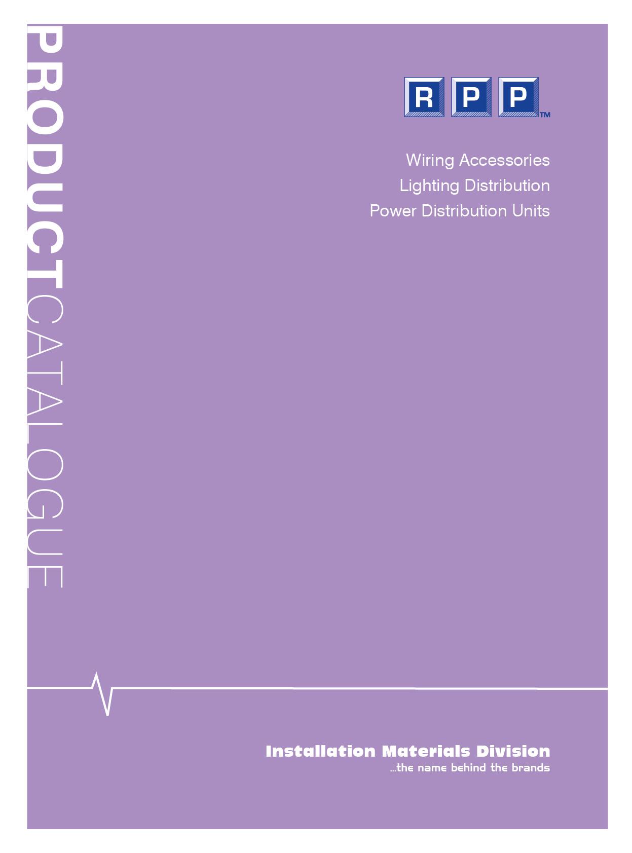 RPP Catalogue